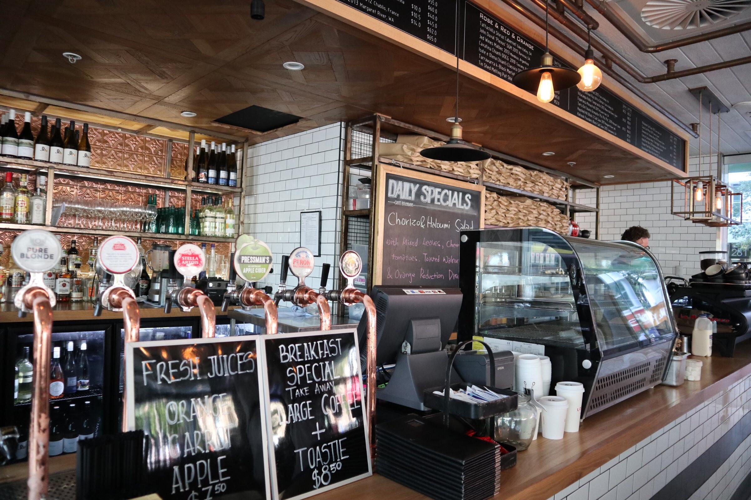 【ブリスベン】お洒落なコーヒーショップ【カフェ】