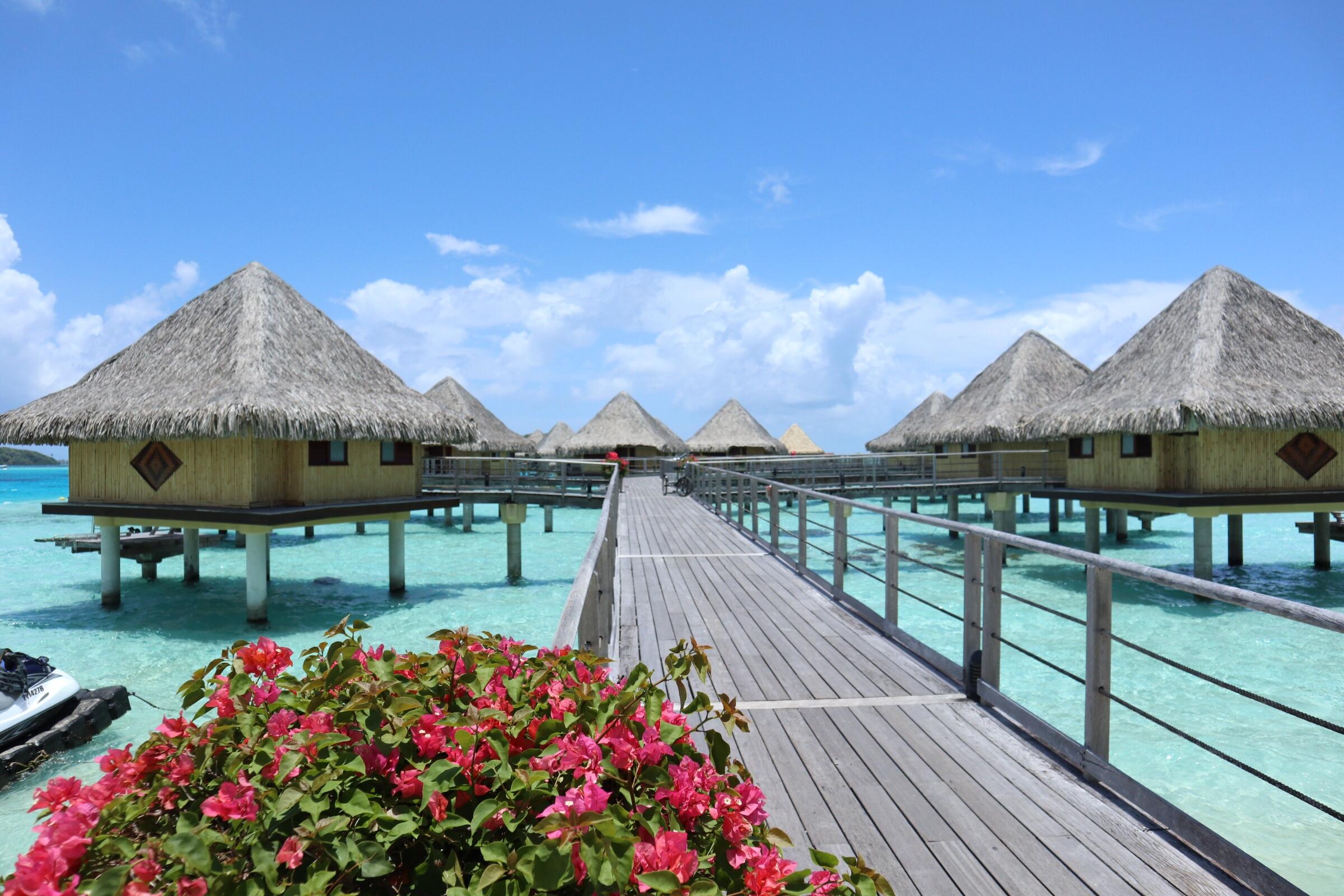 【タヒチ】天国か、ボラボラ島【リゾート】