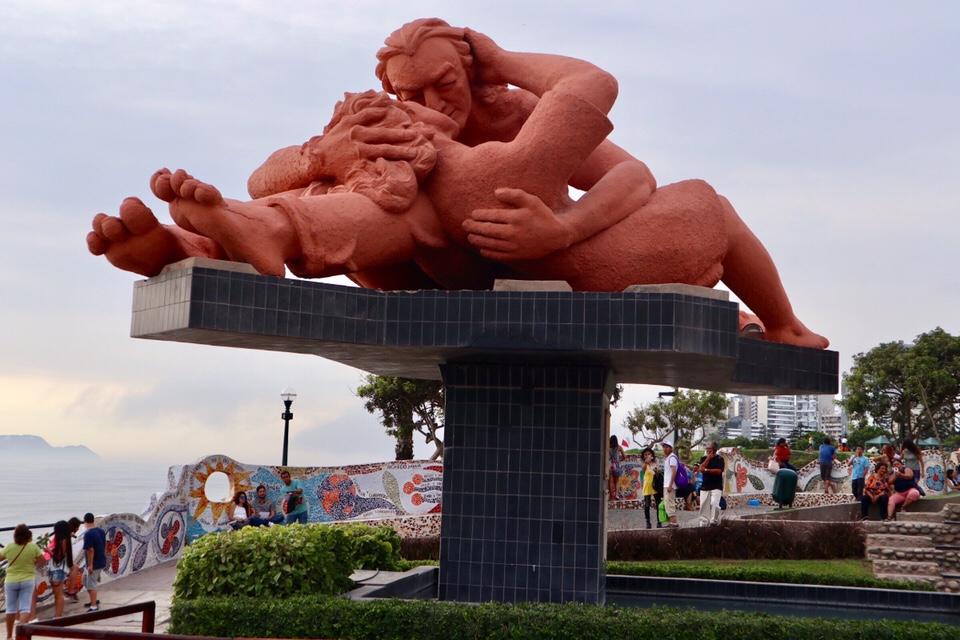 【ペルー】リマ、恋人達の公園♡【観光】