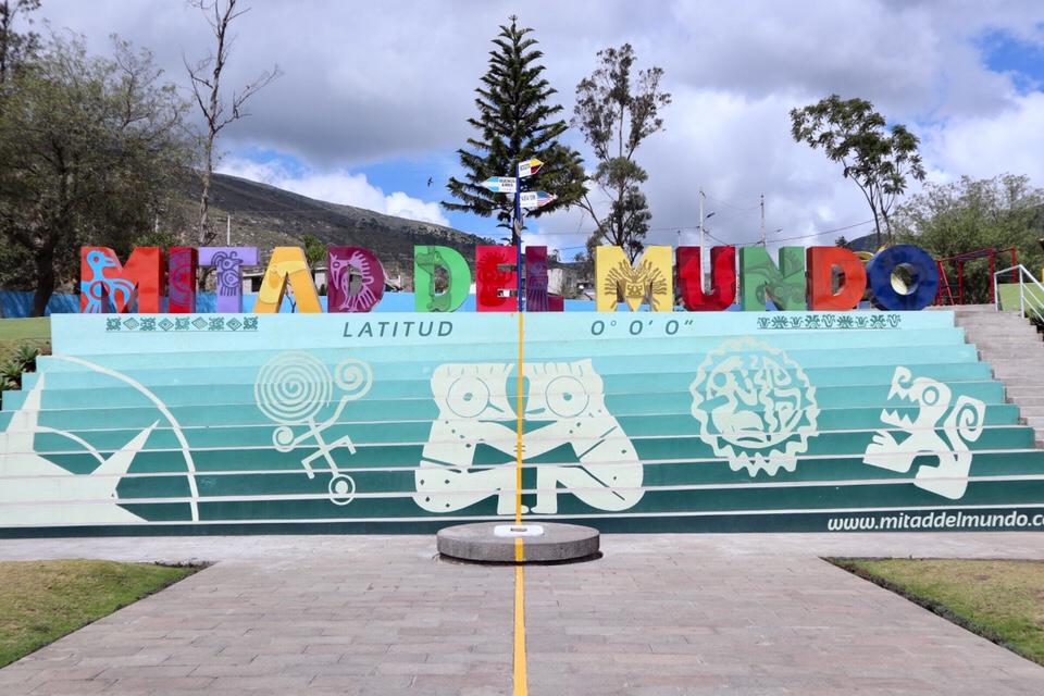 【キト】北半球へのスタート〜赤道の国、エクアドル〜【観光】