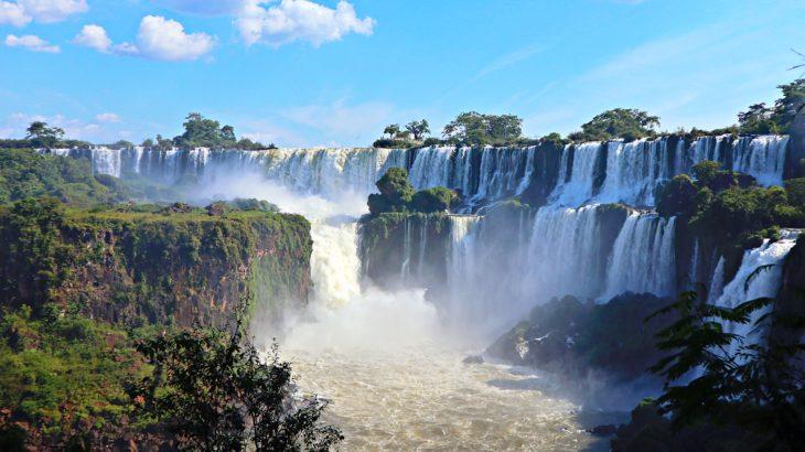 【アルゼンチン】世界三大瀑布!イグアスの滝へ!【イグアス】
