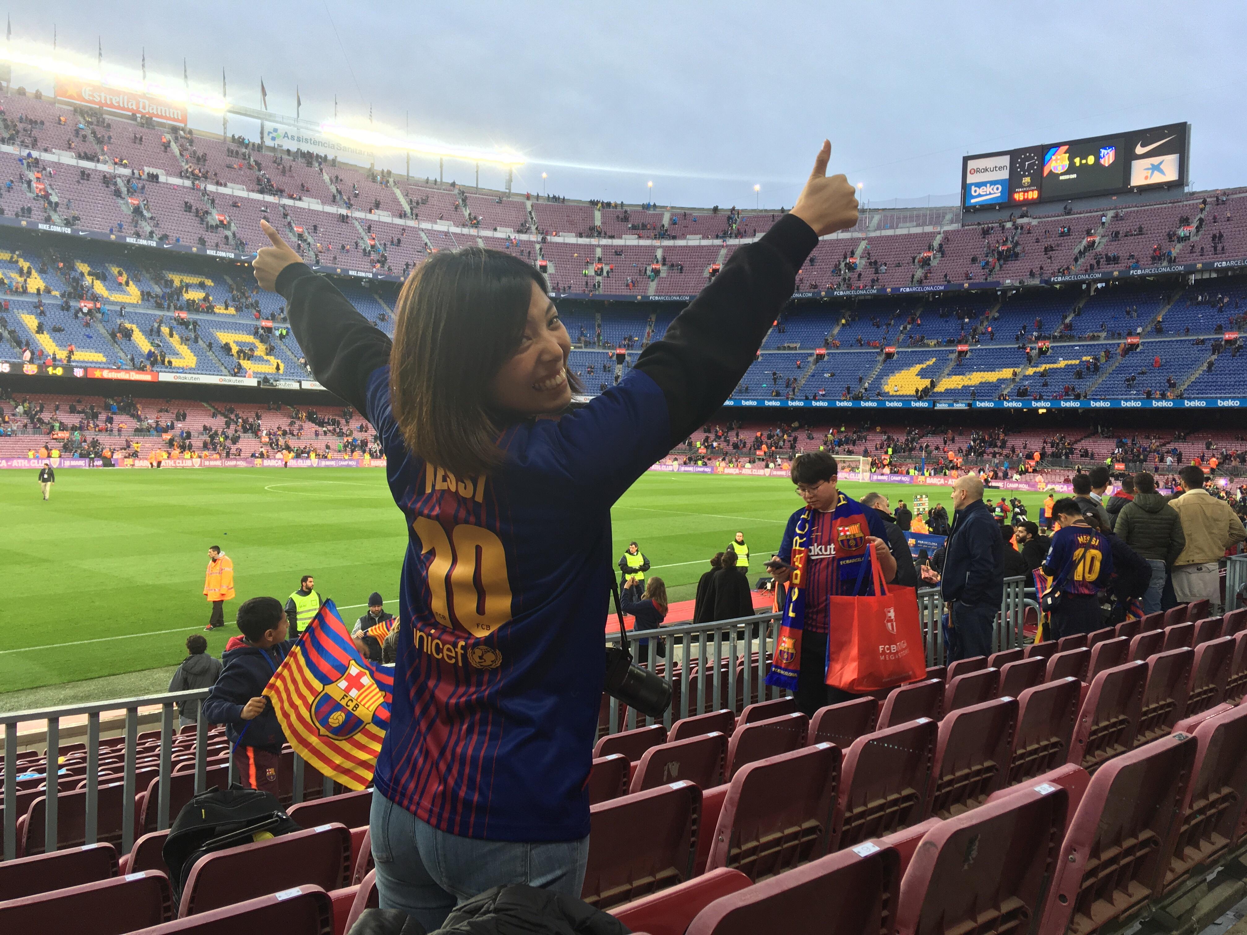 FCバルセロナ対アトレティコ・マドリード
