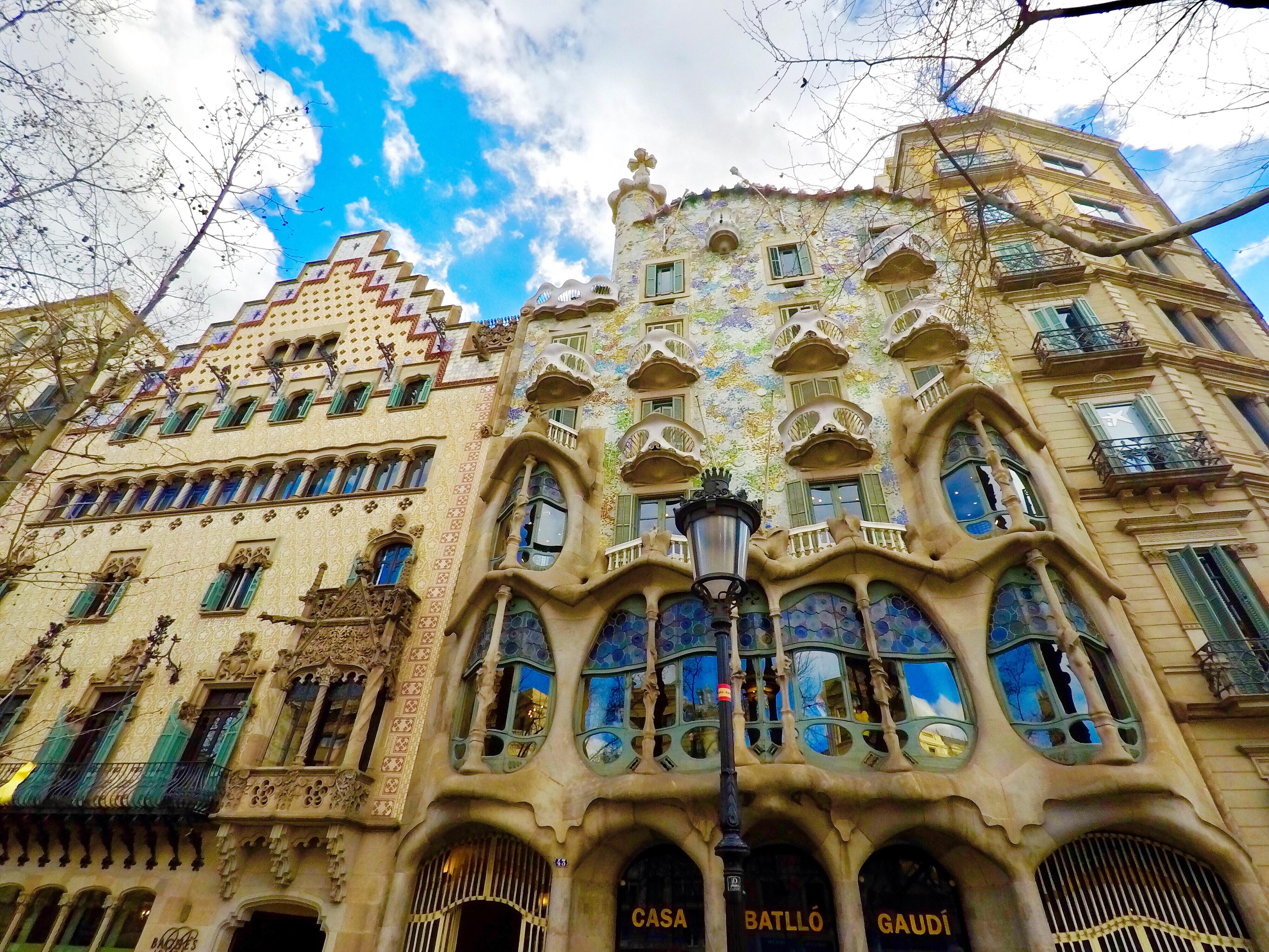 ガウディの街、バルセロナ