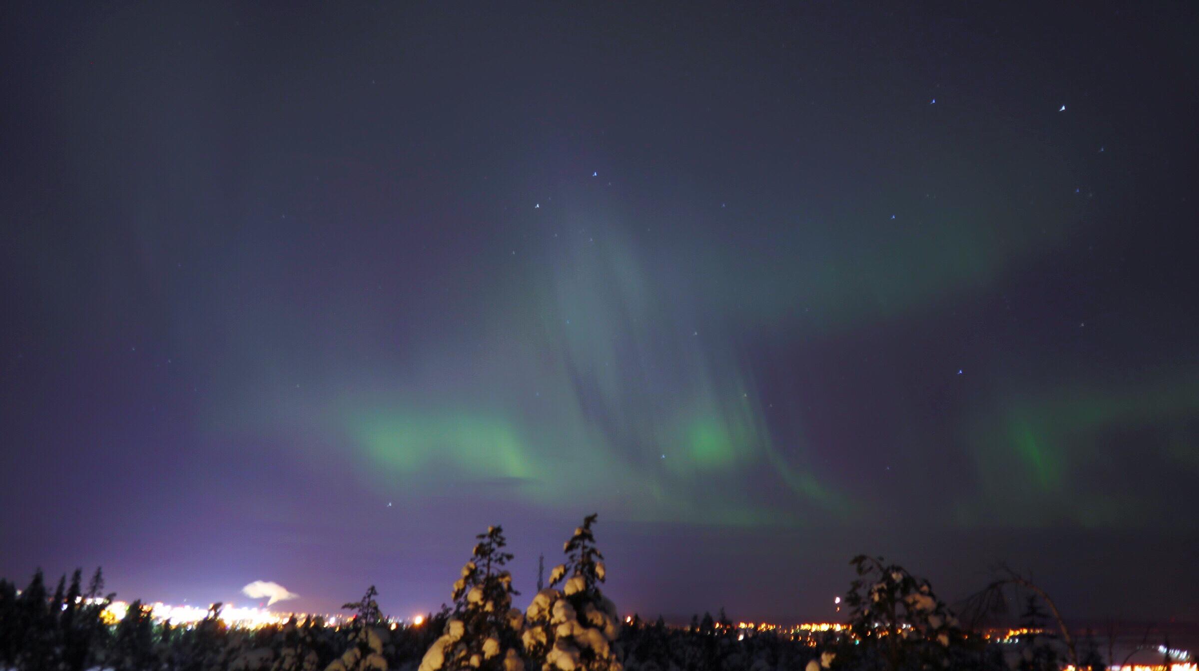 【フィンランド】ロヴァニエミでオーロラを見よう!【オーロラ】