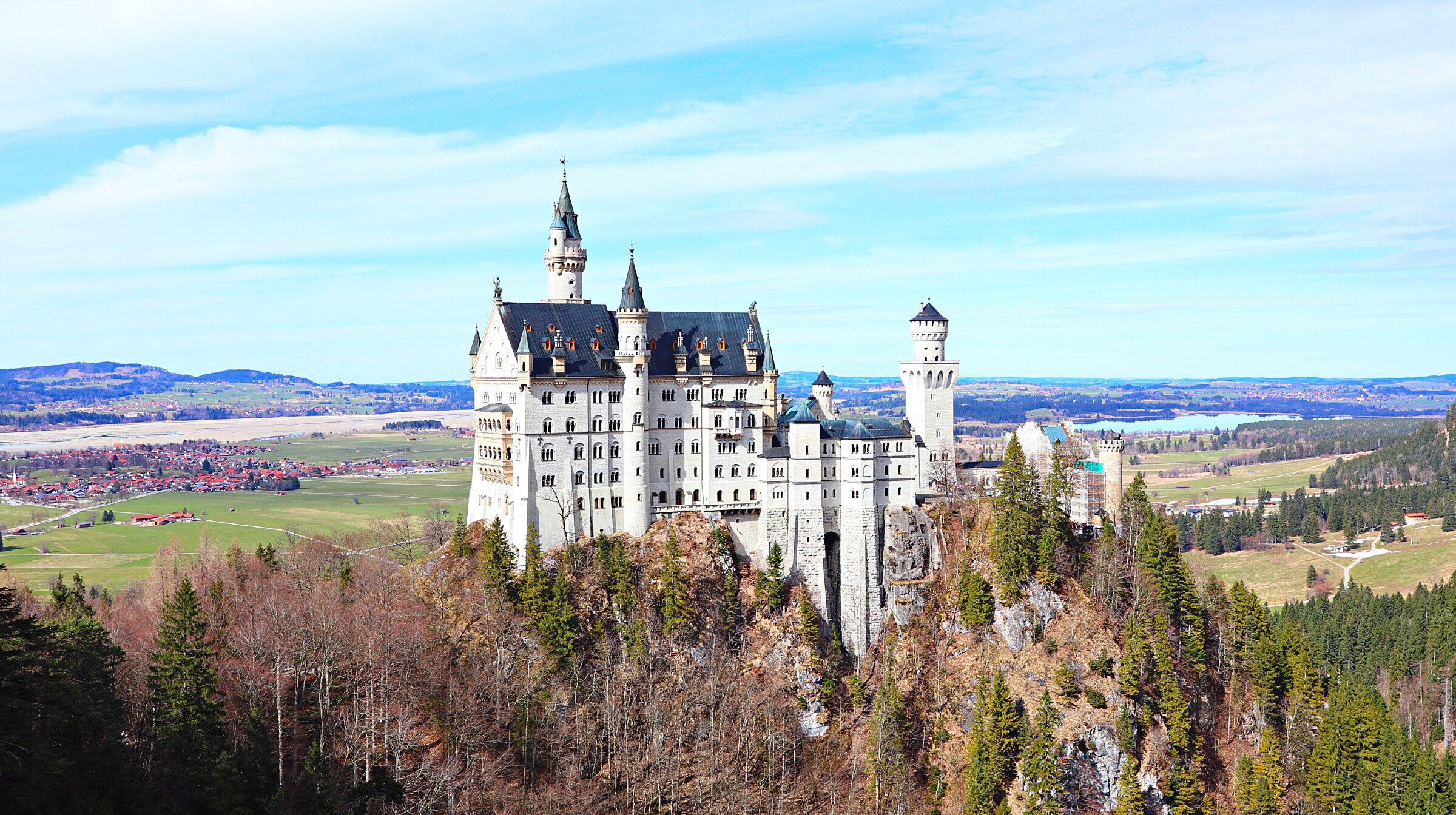 【ノイシュバンシュタイン城】ドイツのリアルシンデレラ城!行き方からご紹介!【観光】