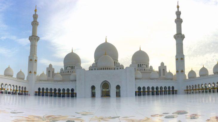 【アブダビ】これぞアラビアンナイトの世界【シェイクザイードモスク】
