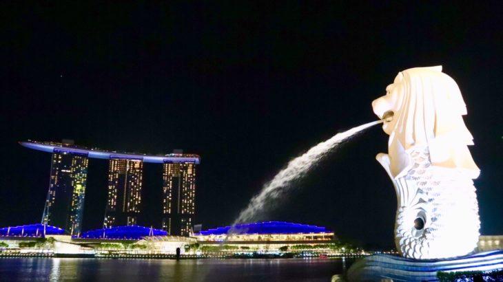 【シンガポール】最終日もド派手にベイサンズフラーッシュ!!【USS】